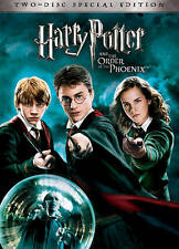 Harry Potter and the Order of the Phoenix (DVD, Canadian; Special Edition)