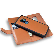 Deluxe Leather Zipper Wallet Purse Card Case+Magnetic Cover For iPhone 6S 7 Plus