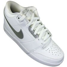 Nike Men Athletic Shoes Air Stepback Shoes White