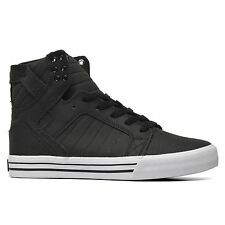 Supra Skytop Black White Mens Trainers