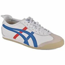 Onitsuka Tiger Mexico 66 White Blue Womens Trainers