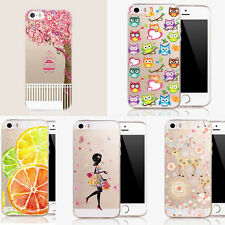 Stylish Chic Rubber Soft TPU Silicone Back Case Cover for Apple iPhone 6 6s Plus