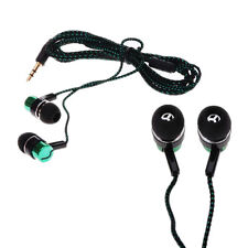 Stereo Earbud Metal Ear Headphone Subwoofer MP3/Mp4 Earphone Roping Pop 3.5mm