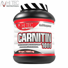 Carnitin 1000 60-180 Caps. Fat Burner Weight Loss Fat Tissue Reduction Carnitine