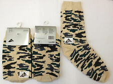 3 Pairs Womens Ladies Girls Lycra Army Camouflage Design Ankle Cotton Socks New