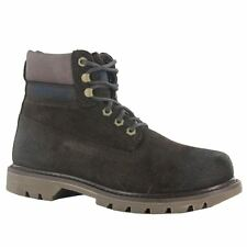 Caterpillar Colorado Dark Brown Suede Mens Boots