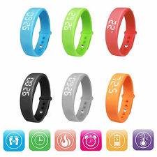 W5 USB Multi-functional Smart watch Wrist Band Bracelet Pedometer for Android