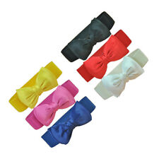Women Lady Bowknot Elastic Bow Wide Stretch Buckle Waistband Waist Belt 6 Colors