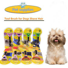 Hot Furminator Deshedding Tool 2 Model Hair Dogs Cat Professional Grooming Brush