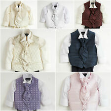 Boys Waistcoat Suit, Baby Boys Suits, Boys Wedding Suits, Page Boy Suits Sicily