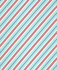 Candy Cane Stripe -  Michael Miller CX6634-WINT-D (sold by the 1/2 yard)