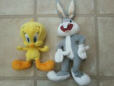Cute Tweety Pie and Bugs Bunny Soft Cuddly Toys