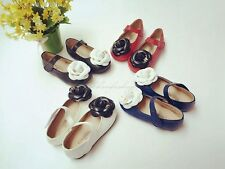NEW Lamb Skin Real Leather Baby Girls Toddler Flowers Princess Shoes Dress Shoes