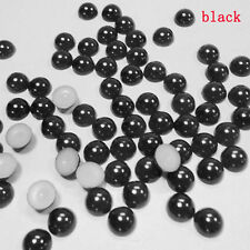 Hot Sale Half Round Bead Flat Back Acrylic Pearl Scrapbooking Embellishment  4mm