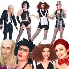 Adult Mens Womens Rocky Horror Picture Show Halloween Fancy Dress Costume Wig