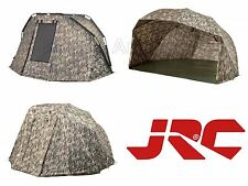 Brand New 2016 JRC Limited Edition Camo Contact Bivvy & Brolly Range