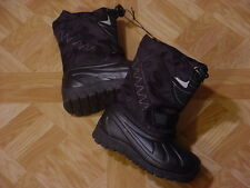 Ozark Trail Toddler Boys Black Temp Rated Winter Boots Size 5, 6