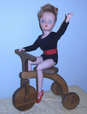 "Wooden Doll Tricycle Vintage Handcrafted for 18"" to 22"" Dolls or Bears"