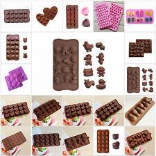 Christmas Silicone Chocolate Mould Ice Cube Tray Jello Soap Cookies Molds Decor