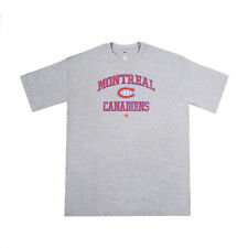 MONTREAL CANADIENS HABS NHL SHORT SLEEVE JERSEY T-SHIRT ~ BIG MAN SIZES 3X TO 6X