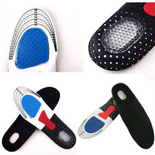 1pair Gel Orthotic Sports Running Insoles Insert Shoe Pad Arch Support Women Men