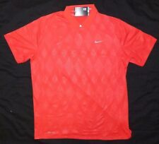 Nike Tiger Woods Golf Polo Shirt NWT 648525-660 Size XL MSRP $85
