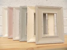 Photo Frame/Picture Frame/Shabby Chic/Vintage/Distressed/Antique/4 Colour/3 Size