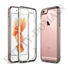 Smart Slim Clear Transparent Silicone Gel Case and Screen Protector for iPhones