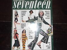 """Vintage SEVENTEEN Magazine June 1969/period Ads Styles and Articles/10.5""""x13"""" fo"""