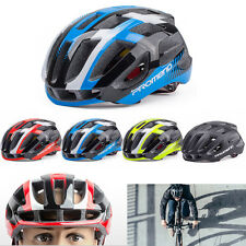 Road Bike Racing Bicycle Cycling Helmet Visor Adjustable Shockproof Outdoor