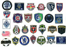 Soccer Pins Choice: U.S., Mexico, All-Star Game, MLS Cup Champs, Various Teams