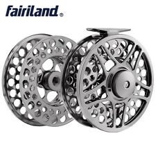 """9/11 110mm/4.33"""" 2BB+1RB METAL fly fishing reel with extra spool fly reel combo"""