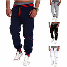 Men Fashion Casual Sweatpants Jogging Harem Tracksuit Jersey Slacks Trousers