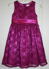 NWT Rare Editions Lace Covered Dress with Back Tie - Size 2T/2