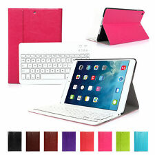PU Leather Case Cover with Bluetooth Wireless Keyboard Stand for iPad Air/5
