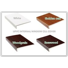 UPVC INTERNAL WINDOW CILL COVER, CAPPIT CILL, UPVC REVEAL LINER, FASCIA COVER