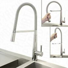 1.5 Bowl Stainless Steel Kitchen Sink Reversible Drainer + Pull Down Mixer Tap