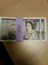 OLD STYLE £20 NOTES (FILM/TV PROP ONLY)