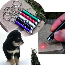 1pcs Multifunction Mini Laser Light Pointer UV LED Torch Flashlight Keychain LJ