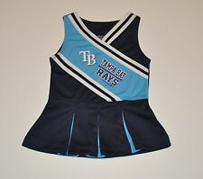 NWOT Tampa Bay Rays Girls Infant Toddler Cheerleader Outfit (12M) Jersey Shirt