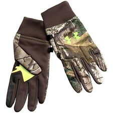 Under Armour Scent Control Armour Infrared Hunting Gloves Big Game Camo 2 Colors