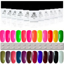 10ml Born Pretty Candy Colors Nail Art Soak Off UV Gel Polish Tool #49-#72