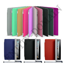 Ultra Thin Smart Flip Magnetic Stand Case Apple iPad Mini1/2/3 Transparent Back
