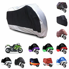 Motorcycle Motorbike Water Resistent Rain UV Breathable Cover + storage bag