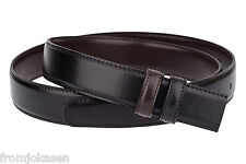 "Reversible belt strap Black Mens belts Brown ferragamo buckle Leather 30"" - 42"""