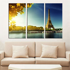 Modern Painting Wall Art Canvas Famous Eiffel Tower Cuadros Decoration No Frame