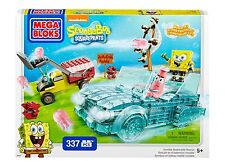 Mega Bloks Spongebob Squarepants Invisible Boatmobile Rescue