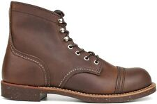 Red Wing Heritage 6 Inch Iron 08111-1 New Mens Work Amber Ranger Boots Shoes