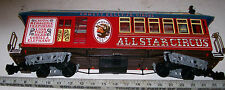 Bachmann G Gauge Emmett Kelly Circus Advertising Train Car For Garden Railway RR