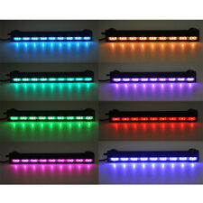 25CM 9 LED 2.8W Flood Bubble Light Stip + 24 Keys RC Remote Aquarium Fish Tank